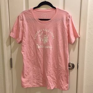 "Cute ""Support Your Local Girl Gang"" Pink T-Shirt"